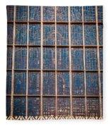 Mosaic Alamo In Glass Fleece Blanket