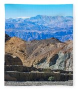 Mosaic Canyon Picnic Fleece Blanket