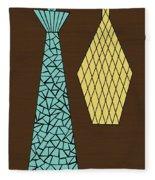 Mosaics 1 Fleece Blanket