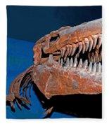 Mosasaur Tylosaurus Proiger Fleece Blanket