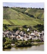 Mosel Wine Village Fleece Blanket