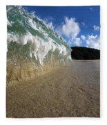Moses Wave Fleece Blanket