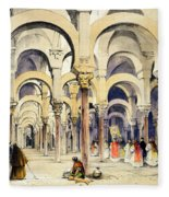 Mosque At Cordoba, From Sketches Fleece Blanket