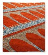 Mosque Carpet Fleece Blanket
