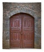 Mosque Doors 11 Fleece Blanket