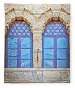 Mosque Windows 3 Fleece Blanket
