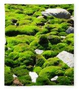 Mosscape Fleece Blanket