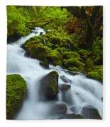 Mossy Creek Cascade Fleece Blanket