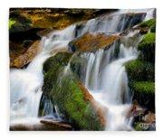 Mossy Falls Fleece Blanket
