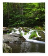 Mossy Falls Fleece Blanket