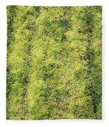 Mossy Grass Fleece Blanket