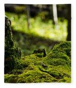 Mossy Log Fleece Blanket