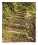 Mossy Path Fleece Blanket