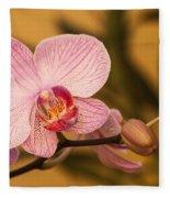 Moth Orchid Fleece Blanket