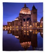 Mother Church Boston Fleece Blanket