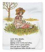 Mother Goose, 1881 Fleece Blanket