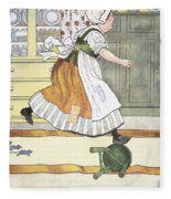 Mother Goose, 1916 Fleece Blanket