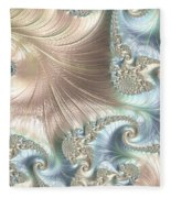 Mother Of Pearl - A Fractal Abstract Fleece Blanket