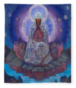 Mother Of The World Fleece Blanket