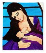 Mother Fleece Blanket