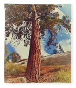 Mother Tree Fleece Blanket