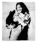 Motherhood  Fleece Blanket