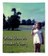 Mother's Day 1964 Fleece Blanket