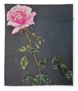 Mothers Rose Fleece Blanket
