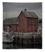 Motif 1 - Painterly Fleece Blanket