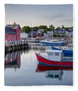 Motif Number 1 Fleece Blanket
