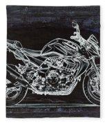 Moto Art 41 Fleece Blanket