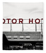 Motor Hotel Fleece Blanket