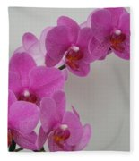 Mottled Orchid 1 Fleece Blanket