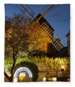 Moulin De La Galette Fleece Blanket