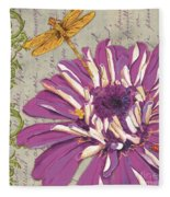 Moulin Floral 2 Fleece Blanket