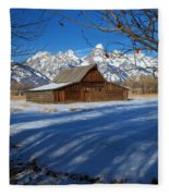Moulton Barn Fleece Blanket
