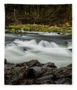 Moulton Falls 1 Fleece Blanket