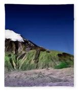 Mount Ararat Turkey Fleece Blanket