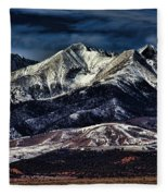 Mount Blanca Fleece Blanket