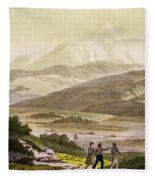 Mount Cayambe, Ecuador, From Le Costume Fleece Blanket