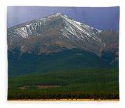 Mount Elbert Fleece Blanket