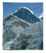 Mount Everest Morning Fleece Blanket