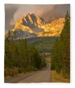 Mount Heyburn Fleece Blanket