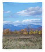 Mount Katahdin From Stacyville Fleece Blanket