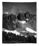 Mount Lassen Fleece Blanket