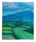 Mount Leinster Ireland Fleece Blanket