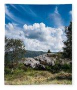 Mount Lovstakken Fleece Blanket