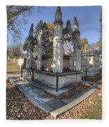 Mount Mora Cemetery 2 Fleece Blanket