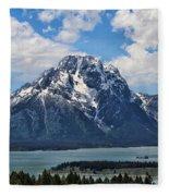 Mount Moran Fleece Blanket