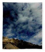 Mount Rushmore South Dakota Fleece Blanket
